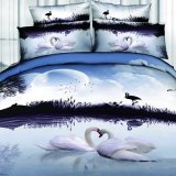 Animal 3D/5D Customized Picture Reactive Printed Bedding Sets Four-Piece