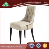 Accept Customized Hotel Dining Chair Solid Wooden Restaurant Chair