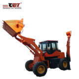 Small Excavator Backhoe Front Discharge Wheel Loader with Wholesale Price