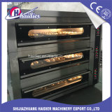 Bakery Equipment Electrical Gas Pizza Oven Deck Oven 3 Layers 9 Trays with Steam