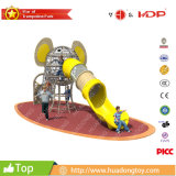 TUV Prooved Outdoor Climbing Net Elephant Slide Playground