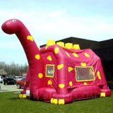 Bouncing Castle Dinosaur, Inflatable Moonwalks (B1130)