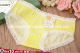 Hot Sale Cotton Fashionable Ventilate Plaid Young Girls Underwear Ladies Lingerie Panty