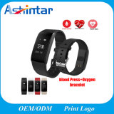 Blood Pressure Watch Pulse Meter Oxygen Heart Rate Fitness Tracker Smart Wristband