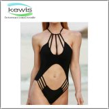 Fashion Design Pure Color One Piece Swim Suit