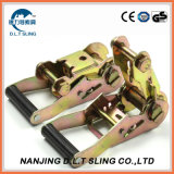 Competitive Price Lashing Straps Cargo Lashing Ratchet Tie Down, Ce GS