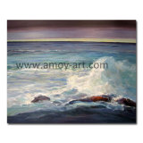 Wholesale Handmade Seascape Oil Painting for Home Decoration