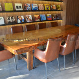 Solid Wood Restaurant Sofa Booth Table Chair Canteen Table Bar Stool Table Durable Quality Commercial Furniture Fold Table Plywood Cafe Booth (SP-CS347)