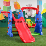 Kids Cheap Indoor Plastic Slide and Swing Set Kindergarten Indoor Playground Equipment Kids Play Equipment for Sale