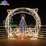 High Quality Outdoor Moderate Price Christmas Arch Street Decoration