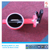 High Performance Clamp Butterfly Valve For Fire Fighting BCT-GBFV-1