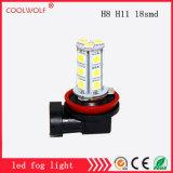 Factory Direct Sales LED Front Fog Lamps H8 H11 18SMD LED Fog Light Bulbs Anti Fog Lamp High-Power
