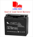 12volt 18ah Solar Sealed Rechargeable Lead-Acid Battery