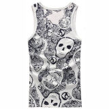 Wholesale Cheap Full Print Women Tank Top
