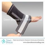 Ankle Support Sleeve with Compression Wrap