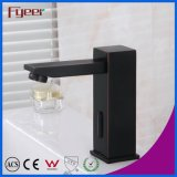 High Quality Solid Brass Black Automatic Sensor Faucet Bathroom Tap