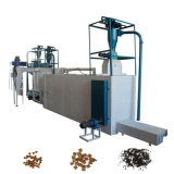 Hanson Animal Floating Fish Feed Extruder Production Line /Poultry Pet Food Pellet Machine Price