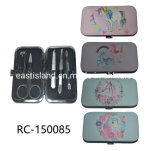 Printed Beauty Manicure Set/Nail Clippers Cleaner/Nail Care Set
