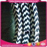 Graphite PTFE Aramid Yarn Fiber Optic Cable Thread