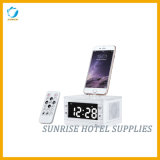 Large LCD Display Alarm Clock Docking Station