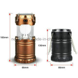 Solar Powered Extendable Rechargeable 6 SMD LED Camping Lantern