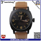 Yxl-376 Promotional Curren Watches Men Luxury Watch Genuine Leather Calendar Big Dial Military Casual Watches Custom Logo OEM Watch