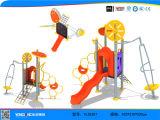 Kids Cheap Plastic Slides Outdoor Playground Equipment (YL55357)