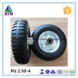 Galvanized Rim Competitive Price PU Solid Tyre