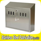 Wall-Mounted Modern Stainless Steel Mailbox Designs