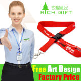 Bulk Drive Price Polyester/Sublimation Lanyard for Recreational Activities