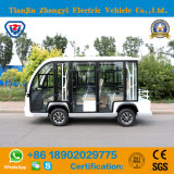 Zhongyi 8 Seaters White Electric Sightseeing Cars on Sale
