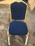 Stackable Restaurant Furniture Metal Hotel Church Gold Banquet Chair