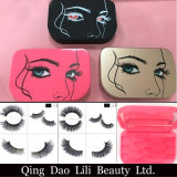 Latest fashion Package Box with 3 Pairs for 3D Eyelash and Mink Eyelash