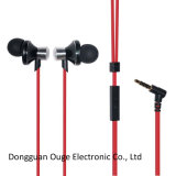 New Cool Design Metal Mobile Earphones with Microphone