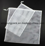 Promotional White Mesh Laundry Pouch Nylon Net Bag