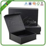 Wholesale Custom Logo Small Black Printed Printing Rigid Paper Cardboard Packaging Gift Box