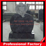 Hot Sale American Style Red/Black/Grey Granite Headstone
