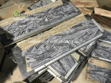 High End Black Marble Culture Stone Ledge Stone for Feature Walls