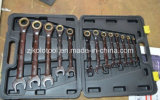 13PC Gear Wrench with Adjustable Function
