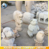 Middle Size Stone Merlion Statue Hand Carved