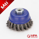 Sali Brand Outlets Twisted Cup Brush for Polishing Metal