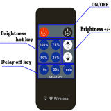 6A 288W DC12V-24V Iron Shell 11 Keys RF Remote LED Dimmer