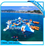 2017 Newest Design Summer Water Toys Game, Inflatable Floating Water Park for Lake (J-water park-02)