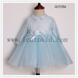 Wholesale Blue Baby Girls Party Dresses Kids Clothes Costume Dress