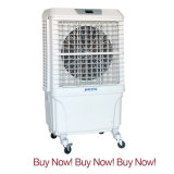 Outdoor Cooling System Convenient Mobile Desert Air Cooler for Air Conditioner