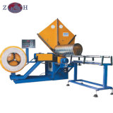 PLC Control Spiral Tube Forming Machine for Ventilation Purpose