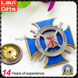 2017 Wholesale Custom Logo Metal Enamel Souvenir Badge
