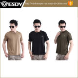 Summer Outdoor Mens Quick Drying Round Collar Short Sleeve T-Shirt