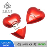 Factory Cheapest Price Custom Plastic Heart Shape USB Flash Drives USB Stick