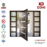 Entry House Entrance Gates Solid Wood Rolling Glass Door Automatic Gate Armored Entrance Compound Security Door Glass Interior Wood Door Wooden Doors Pivot Door